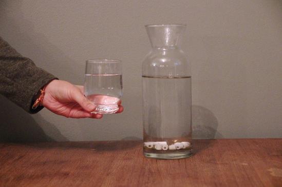 Perles de céramique - Carafe d'eau