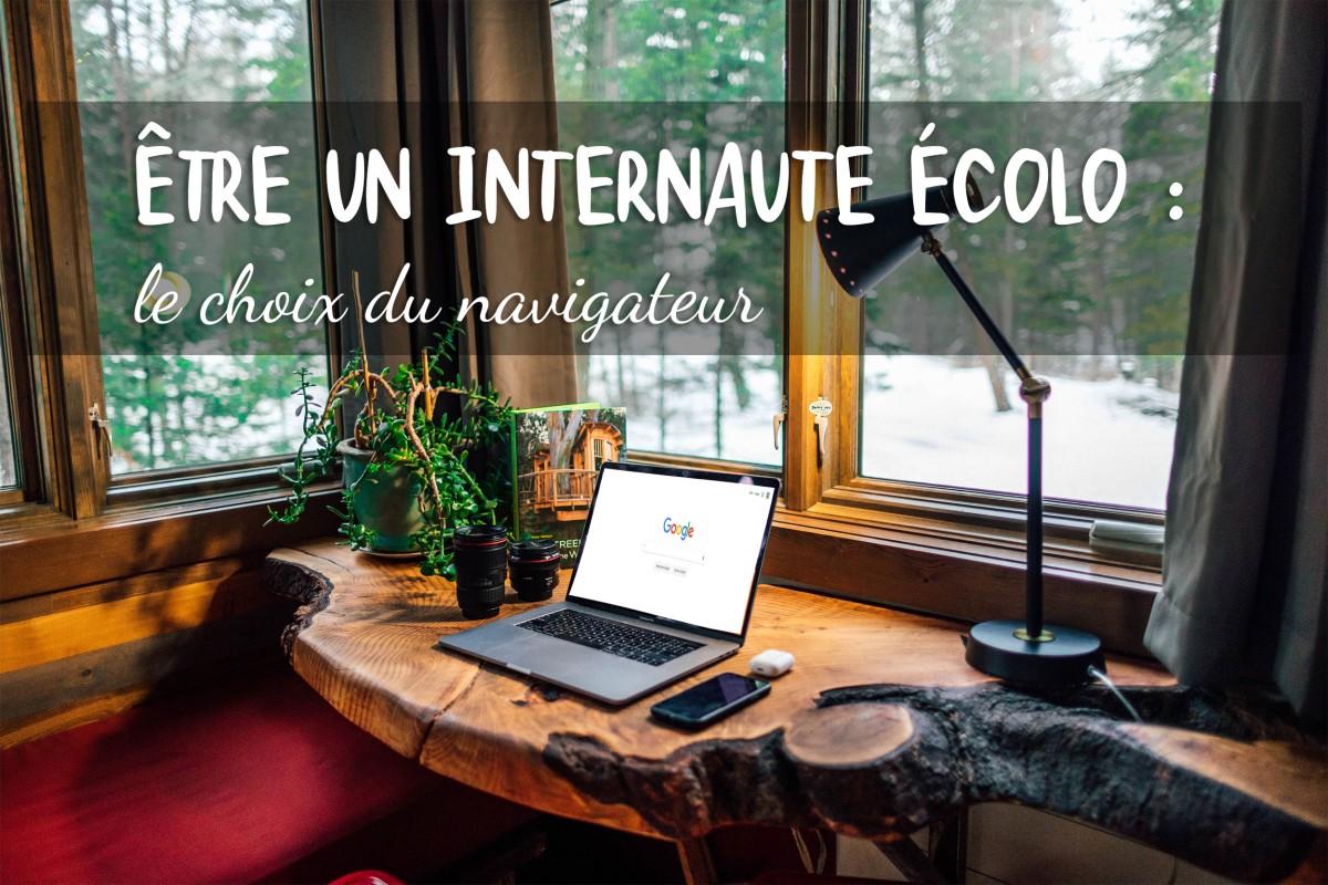 Être un internaute écolo : le choix du navigateur