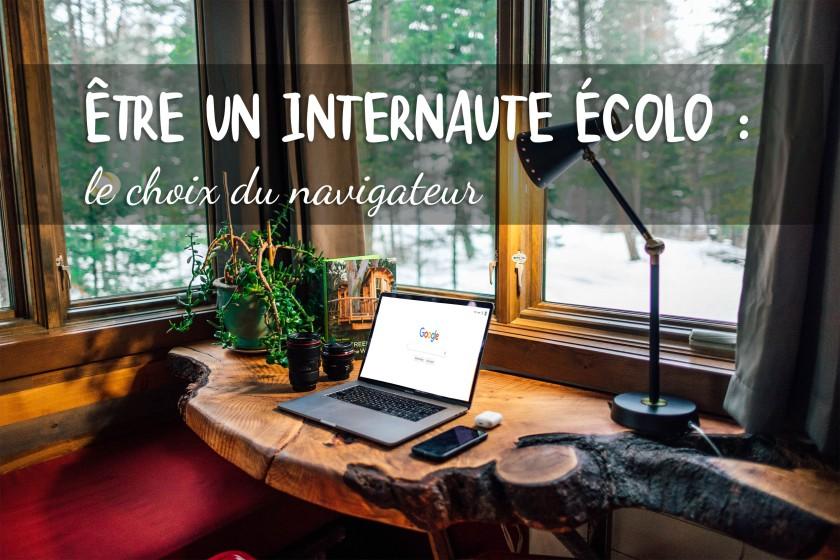 Etre un internaute écolo : le choix du navigateur