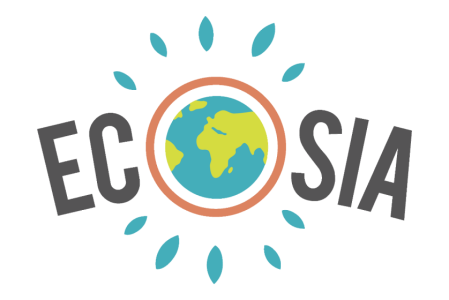 logo moteur de recherche écolo Ecosia